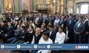 Alianza Lima: ¡Llenos de fe! Futbolistas participaron de misa al Señor de los Milagros en Las Nazarenas [FOTOS]