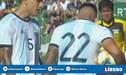 Lautaro Martínez y Leandro Paredes se pelearon en pleno partido para patear un penal [VIDEO]