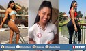 Universitario: Rocío Miranda alborota a los 'hinchas' cremas con atrevido baby doll [FOTOS]