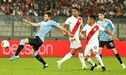 """Perú metió """"Canchita"""" y Uruguay, """"garra"""": empate 1-1 [RESUMEN, GOLES y VIDEO]"""