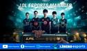 League of Legends | Se el manager de un equipo profesional en este juego