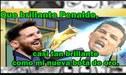 Con Cristiano Ronaldo como víctima principal, estos son los memes sobre Lionel Messi y su sexta Bota de Oro