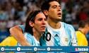 """Lionel Messi sobre la despedida de Riquelme: """"Si estoy y puedo, encantado"""""""