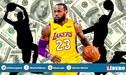 NBA 2019-20: ¿Qué deportistas están en el top 10 de los que más dinero ganan?