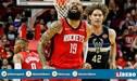 Milwaukee Bucks, de visita, derrotó 117-111 a Houston Rockets en la NBA [VIDEO]
