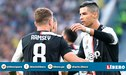 Aaron Ramsey se disculpa con Cristiano Ronaldo por robarle el gol