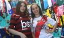 River vs Flamengo: Comerciantes rayan vendiendo camisetas de ambos clubes [FOTOS]