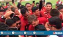 Universitario: Hinchas fueron a Campo Mar para brindar su apoyo al plantel crema [VIDEO]