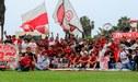 Universitario y la fiesta que vivió en Campo Mar con sus hinchas por 'banderazo'
