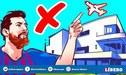 Controla hasta el cielo: Messi y la curiosa razón por la que los aviones no pueden volar sobre su casa [VIDEO]