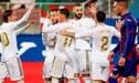 Real Madrid venció por 4-0 a Eibar por la fecha 13 de la liga española