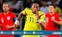 Colombia sufre primera baja para enfrentar a Perú