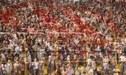 Hinchas de Universitario se pelearon en el día de su aniversario y en presencia de dirigentes de Conmebol