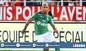 ¡De goleador! Miguel Trauco anotó para el empate 1-1 de Saint Étienne frente al Nantes de Benavente [VIDEO]