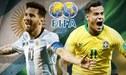 [TV Pública EN VIVO] Argentina vs Brasil EN DIRECTO Gol de Messi 1-0 vía TyC Sports