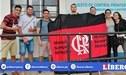 Llegaron a Lima los primeros hinchas de Flamengo para la Final Copa Libertadores 2019