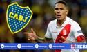 Paolo Guerrero arregló de palabra con Boca Juniors, según medios argentinos