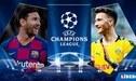 Ver GRATIS ESPN2 EN VIVO, Barcelona vs Dortmund con Messi por Champions League