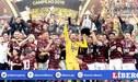 Flamengo saludó al Perú luego del título ganado en la Copa Libertadores [FOTO]