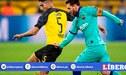 Barcelona vs Borussia Dortmund [ESPN EN VIVO] PT en directo por Grupo F de la Champions