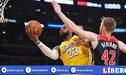 LeBron James lidera a los Lakers a su décima victoria consecutiva en la NBA [VIDEO]