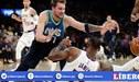 Lakers perdió 110-114 ante Mavericks y le dijo adiós a récord de victorias en la NBA