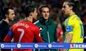 """Ibrahimovic y su dardo a CR7: """"El verdadero Ronaldo es el brasileño"""""""