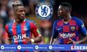 Ousmane Dembélé y Wilfried Zaha en la mira del Chelsea de Frank Lampard [VIDEO]