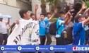 Hinchas de Binacional alientan en las afueras del hotel a su equipo al ritmo de Saya [VIDEO]