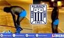 Exjugador 'blanquiazul' corrió desnudo tras perder apuesta en el Alianza vs Binacional [VIDEO]