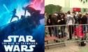 Star Wars: The Rise of Skywalker: fanáticos hacen largas colas para su estreno [VIDEO]