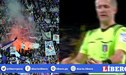Hinchas de la Fiorentina arrojaron molinillo de marihuana al campo, en derrota ante la Roma [VIDEO]
