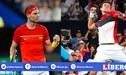 Rafael Nadal y Novak Djokovic debutaron con triunfo para sus países  en la ATP Cup [VIDEO]