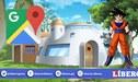 Dragon Ball Z: Usuario busca la casa de 'Gokú' y el resultado es alucinante [FOTOS]