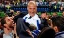 Las nueve finales que disputó y ganó Zinedine Zidane con Real Madrid