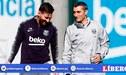 """""""Gracias por todo, míster"""": Messi despidió a Valverde con emotivo mensaje en Instagram"""