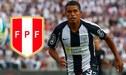 Selección Peruana Sub-23 confirma convocatoria de Aguilar por lesionado Medina