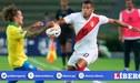 Fernando Pacheco fue reanimado por Nino, su futuro compañero en Fluminense, tras derrota de Perú [VIDEO]