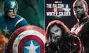 Marvel: Filtran fotos del nuevo Capitán América de 'The Falcon and the Winter Soldier'