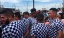 Alianza Lima: futbolistas llegaron a Villa El Salvador para ayudar a los afectados por incendio [FOTOS Y VIDEO]