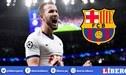 """¿Harry Kane puede ser el """"tapadito"""" de Barcelona?"""