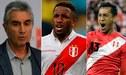 Selección Peruana: Juan Carlos Oblitas, tranquilo sobre futuro de Jefferson Farfán y Renato Tapia