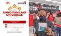 Bono Universal de 760 soles: Guía para el registro nacional de hogares de la RENIEC