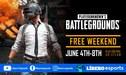 PUBG: descárgalo gratis por Steam en junio por tiempo limitado
