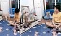 Perro es viral por quitarle el ventilador a sus dueños y usarlo para refrescarse [VIDEO]