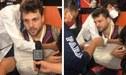 Nicola Porcella sufre aparatosa lesión y teme lo peor en su carrera [VIDEO]