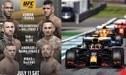 Fin de semana cargado de adrenalina: conoce cómo ver el UFC 251 y el GP de Estiria de F1