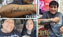 Tras infidelidad, Toño Centella se borra tatuaje en honor a su esposa