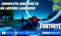 Fortnite: completa la prueba contrarreloj en lancha en Locura Lanchera