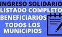 Ingreso Solidario Colombia [LINK]: ¿cómo obtener los 160 000 pesos?